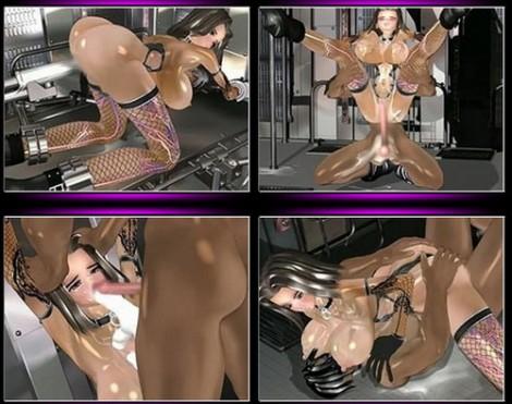 3D BDSM porn video