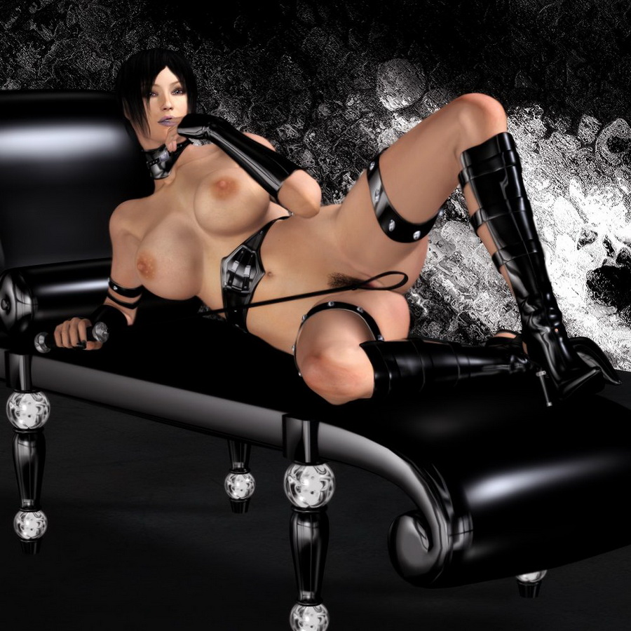 pornocomic bdsm bondage chair