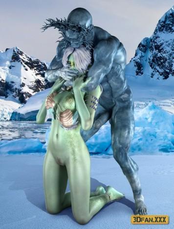 Iceman 3D sex comics