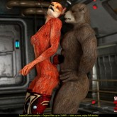 Furry sex 3d - great! at 3D Monster Porn
