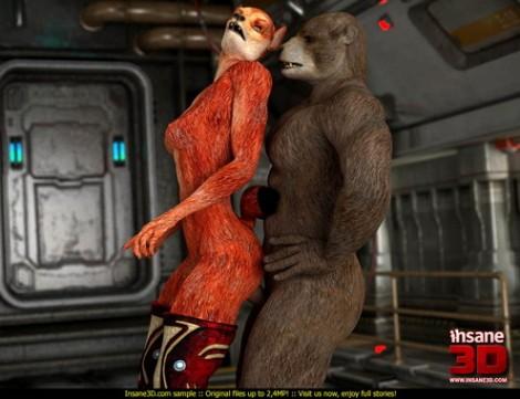 Furry sex 3d
