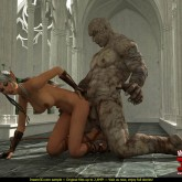 3D super hardcore sex nonstop at 3D Monster Porn