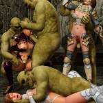 World of Porncraft 3D - crazy elf sex at Warcraft Hentai 3D