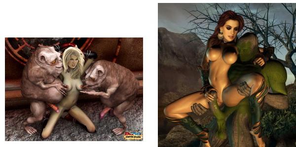 Celebs in 3d porn at 3D Monster Porn
