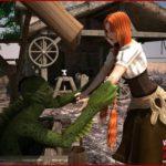 Lover-vampire at 3D Monster Porn